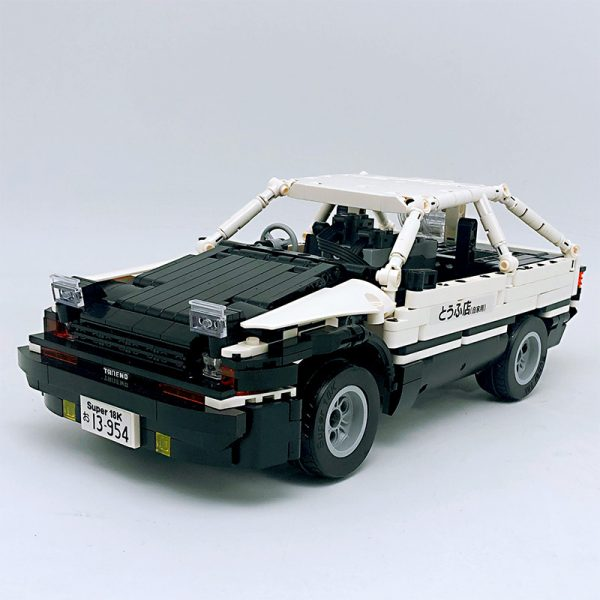 18K K91 Head text D Fujiwara tofu shop Toyota AE86 drift 2