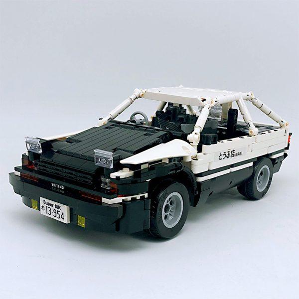 18K K-81 Head text D Fujiwara tofu shop Toyota AE86 drift 2