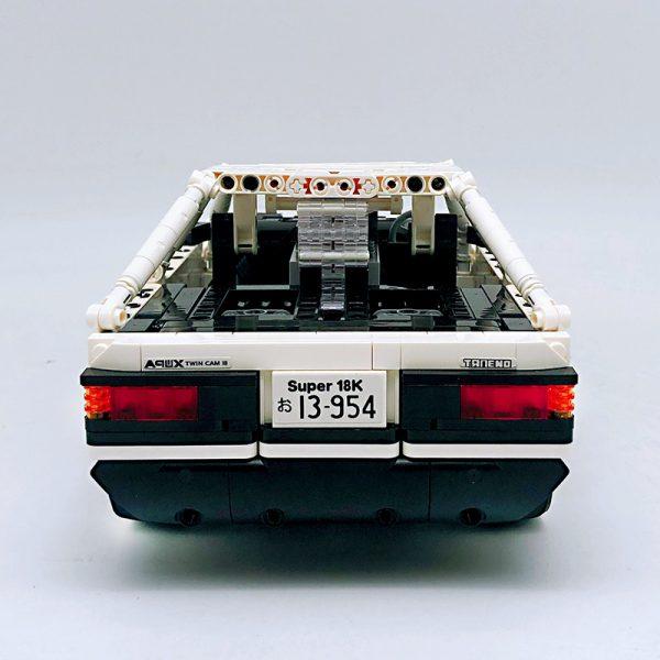18K K-81 Head text D Fujiwara tofu shop Toyota AE86 drift 3