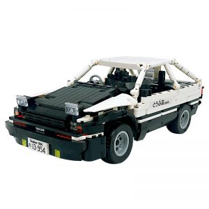 18K K-81 Head text D Fujiwara tofu shop Toyota AE86 drift 0