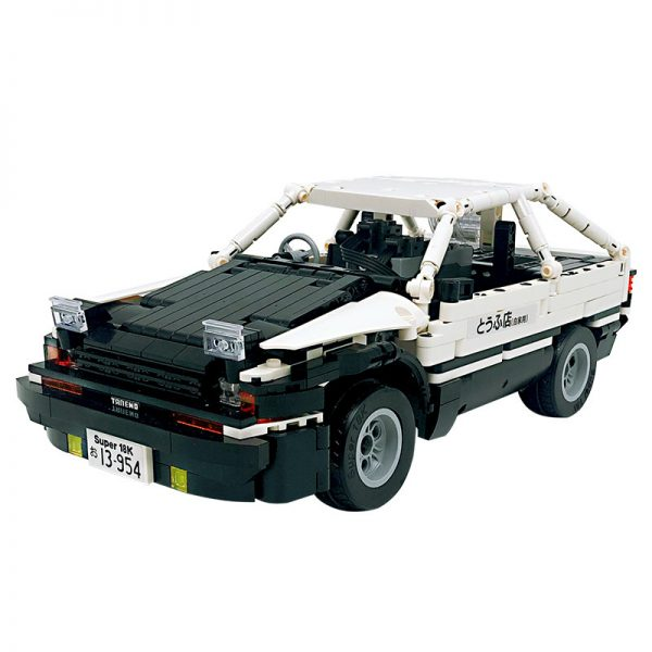 18K K91 Head text D Fujiwara tofu shop Toyota AE86 drift 0